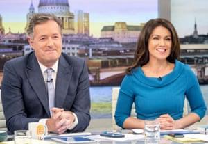 Susanna Reid with Piers Morgan