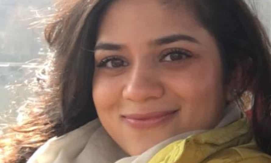 Iltija Mufti, daughter of Kashmir's former chief minister Mehbooba Mufti.