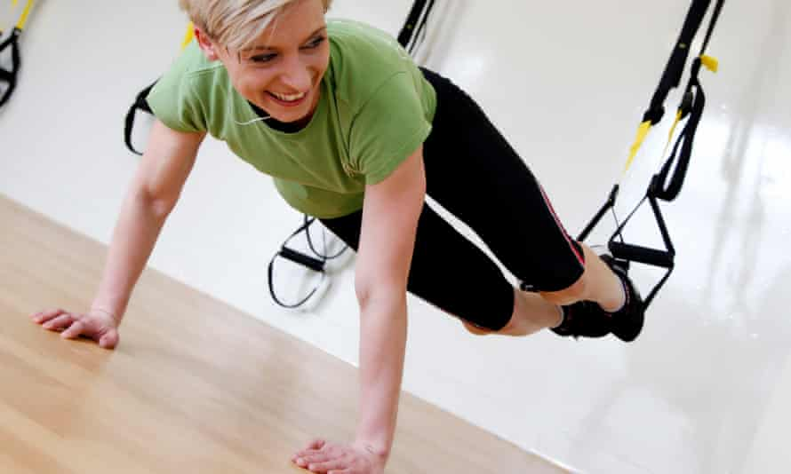 Exercising in a Movers and Shapers gym