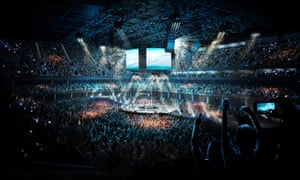 The project, if approved, will become the UK's largest concert arena