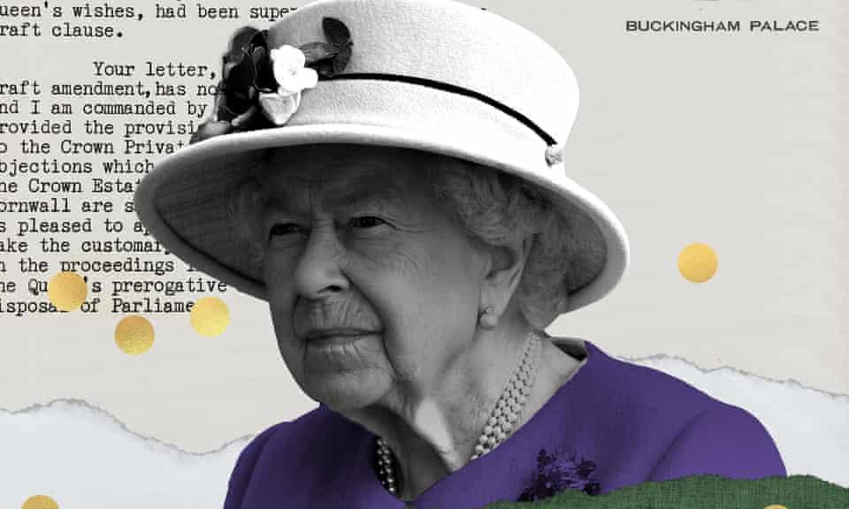 Elizabeth II graphic
