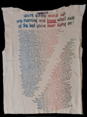 'You're gonna wake up one morning' T-shirt by Vivienne Westwood
