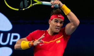 Rafael Nadal helped Spain to a 3-0 win over Georgia
