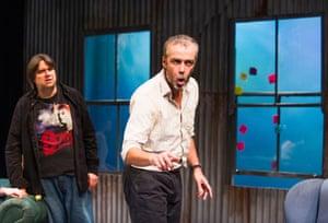 Alan Francis and John Hannah in Uncle Vanya, at London's St James's theatre (2014)
