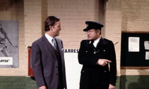 'The loveliest man you could ever meet …' Parsons performing with Benny Hill.