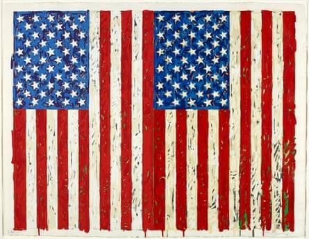 Jasper Johns Flags I