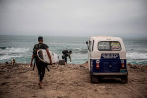 Peru has some of the longest waves in the world, attracting surfers from all over the globe