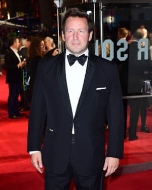 'Refused to intervene in library reductions' … Ed Vaizey attends the London film festival's opening night gala.