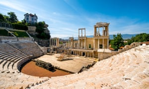 The Roman theatre of Philippopolis in Plovdiv.