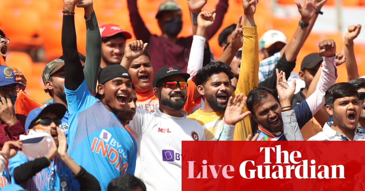 India v England: fourth Test, day three – live! - the guardian