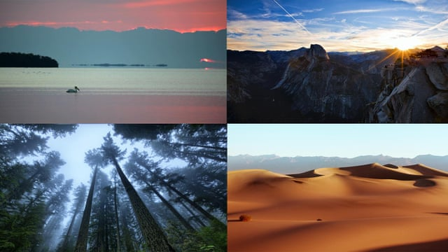 Sunrise to sunset: stunning timelapse video of America's national parks