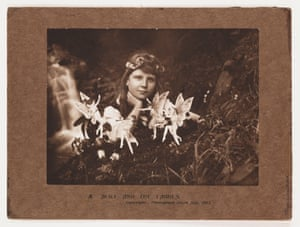 Alice and the Fairies, July 1917, featured in the exhibition.