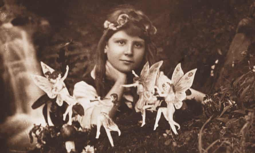On a wing and a prayer: a photograph from 1917 of a young girl with some of the fairies who 'lived' in the village of Cottingley.