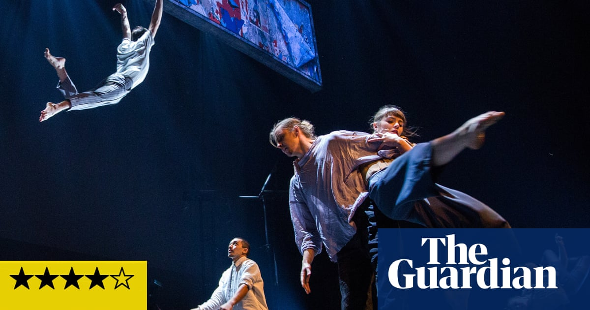 The 7 Fingers: Passagers review – wondrous acrobatics from Cirque du Soleil spinoff