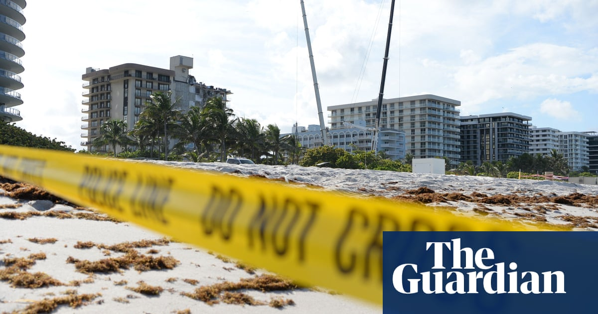 Miami condo collapse prompts questions over role of climate change