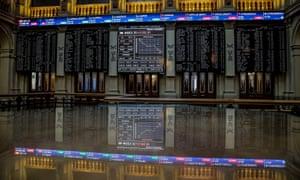 Spain's Ibex stock exchange in Madrid