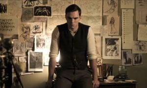 Extraordinary life ... Nicholas Hoult as Tolkien.