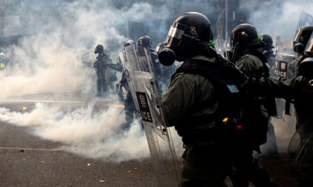 Hong Kong has been rocked by months of protests and clashes between police and pro-democracy activists.