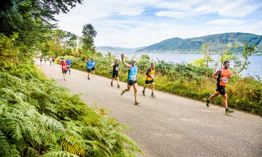 Open skies … the Loch Ness marathon, 2015