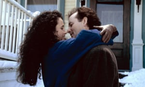 Andie MacDowell and Bill Murray in Groundhog Day.