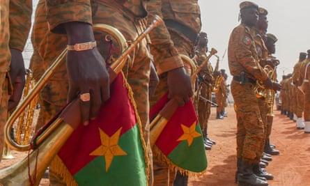Burkina Faso soldiers