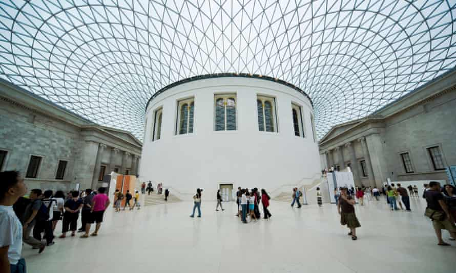 The British Museum is full of artefacts 'purloined from around the world'.