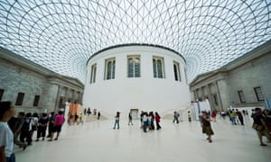 The Great Court and the Reading Room of the British Museum