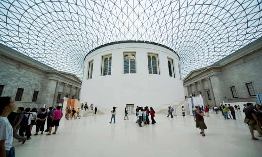 The Great Court of the British Museum.