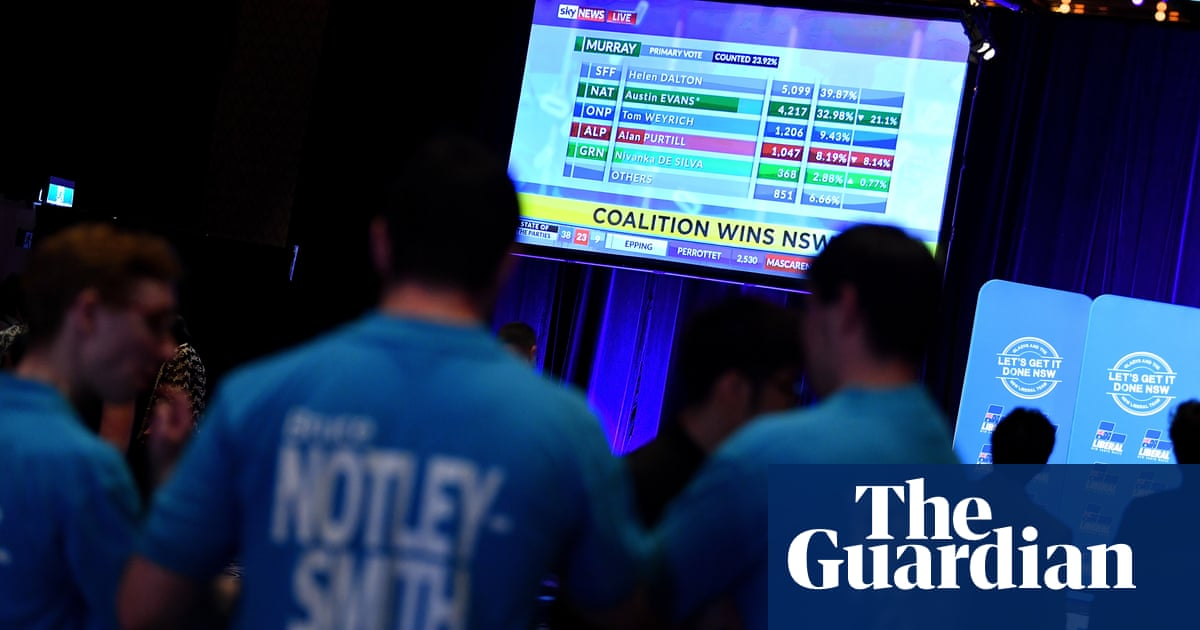 Rising tide of minor parties a stark warning for the