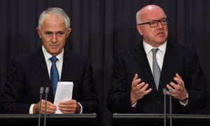 Malcolm Turnbull and George Brandis