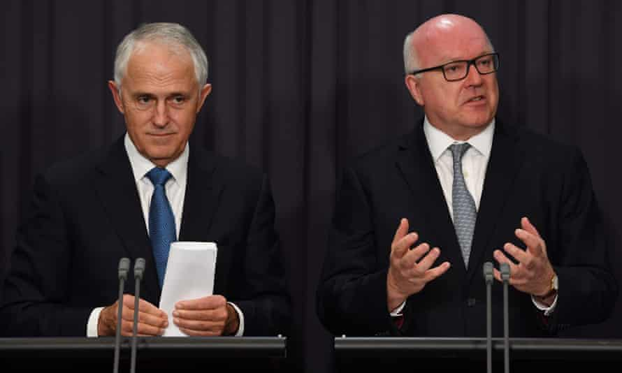 Malcolm Turnbull and George Brandis say Uluru statement Indigenous voice proposal could not pass at referendum.