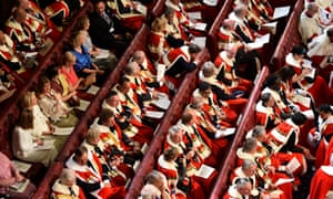 The House of the Lords: the government is attempting to tame the Lords further, by reducing its powers to veto legislation.