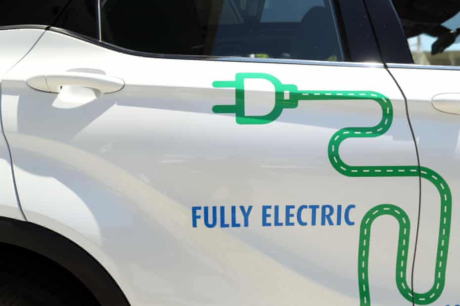 A electric vehicle