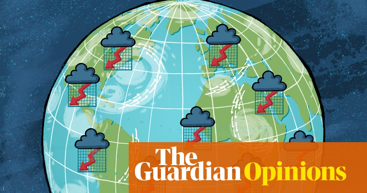 Climate change will make the next global crash the worst | Larry Elliott
