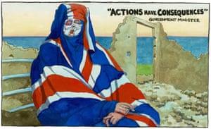 Steve Bell  15.02.19 cartoon