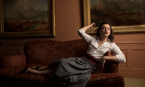 Chilean actor and singer Daniela Vega photographed in London for an interview in the New Review.