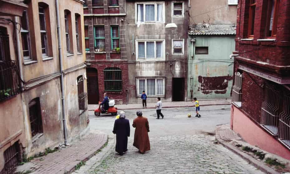 The Fener neighbourhood in Istanbul.