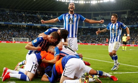 Real Sociedad lead the way in Spain and get to enjoy moment of liberation | Sid Lowe