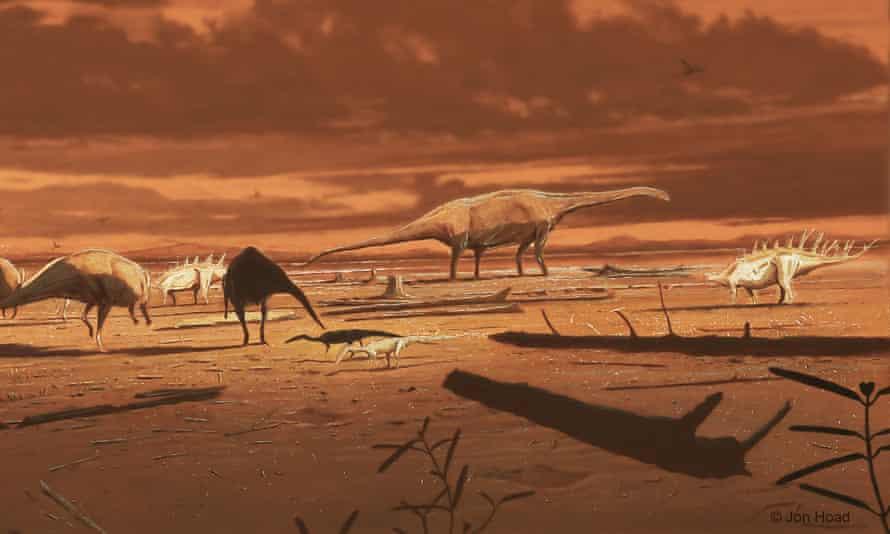 Dinosaurs on Isle of Skye