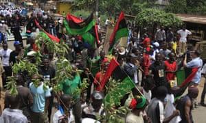 Nigeria army denies killing 150 at Biafra demonstrations