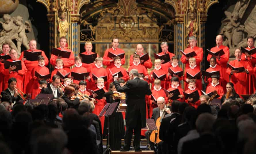 Westminster Abbey Choir and St James's Baroque ensemble.