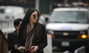 Emma Coronel Aispuro helped her husband trade messages with his sons and others who coordinated the breakout at Altiplano prison in central Mexico, a cartel member testified.
