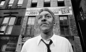 Bayard Rustin, leader of the March on Washington in New York City in 1963.