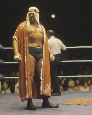 Lebanese-American Ed Farhat, AKA The Sheik, in 1970.