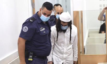 Jewish extremist Amiram Ben-Uliel