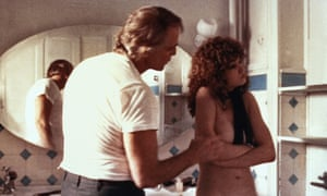 Marlon Brando and Maria Schneider in Last Tango in Paris (1972) … director Bernardo Bertolucci hid the details of a rape scene from Schneider, 'because he wanted her to feel the rage and humiliation'.