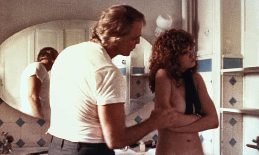 Marlon Brando and Maria Schneider in Last Tango in Paris