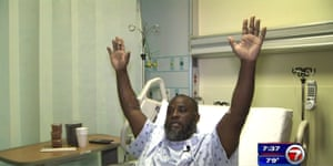Charles Kinsey explains in an interview from his hospital bed in Miami what happened when he was shot by police.