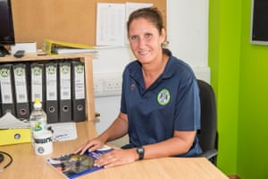Hannah Dingley, Academy manager at Forest Green Rovers.