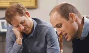 'Our mother was a total kid, through and through' ... Harry and William.